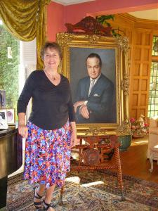 Bob Hope gets his picture taken with me.