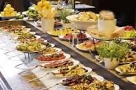 The good old Las Vegas buffet. Temptation runs rampant!